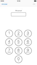 Apple iPhone 7 - Sécuriser votre mobile - Personnaliser le code PIN de votre carte SIM - Étape 6