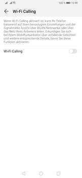 Huawei P30 Pro - WiFi - WiFi Calling aktivieren - Schritt 7