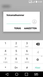 LG K4 2017 - voicemail - handmatig instellen - stap 9