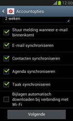 Samsung I8190 Galaxy S III Mini - E-mail - handmatig instellen (outlook) - Stap 9