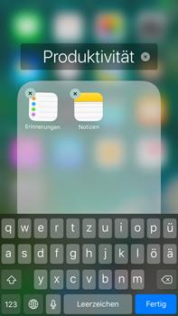 Apple Apple iPhone 7 Plus - Startanleitung - Personalisieren der Startseite - Schritt 6