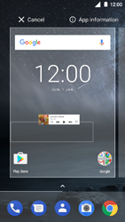 Nokia 3 - Getting started - Installing widgets and applications on your start screen - Step 5