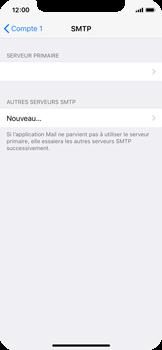 Apple iPhone X - E-mail - configuration manuelle - Étape 20