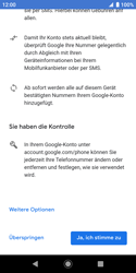 Sony Xperia XZ2 Compact - Android Pie - Apps - Konto anlegen und einrichten - Schritt 15