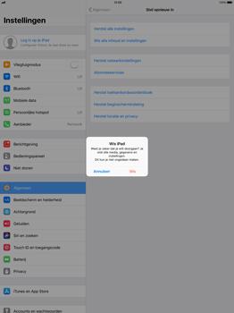 Apple iPad Pro 12.9 (1st gen) - iOS 11 - Instellingen aanpassen - Fabrieksinstellingen terugzetten - Stap 6