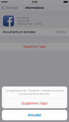 Apple iPhone 6s - Applications - Comment désinstaller une application - Étape 8