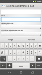 Sony D2303 Xperia M2 - E-mail - Account instellen (IMAP zonder SMTP-verificatie) - Stap 10
