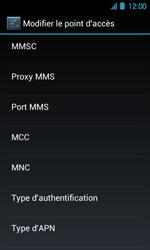 Acer Liquid Glow E330 - Internet - Configuration manuelle - Étape 13