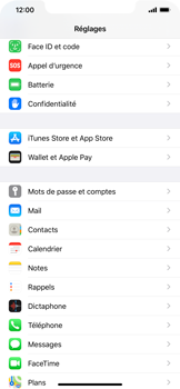 Apple iPhone XS Max - iOS 13 - E-mail - Configuration manuelle - Étape 4