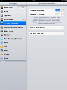Apple iPad - Internet - configuration manuelle - Étape 3