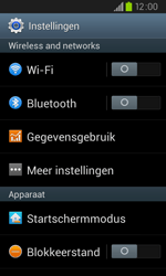 Samsung I9105P Galaxy S II Plus - internet - data uitzetten - stap 4
