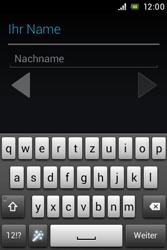 Sony Xperia E - Apps - Konto anlegen und einrichten - 6 / 17