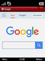 Doro 6520 - Internet et connexion - Naviguer sur internet - Étape 9