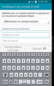 Samsung Galaxy Note Edge - E-mail - configuration manuelle - Étape 5