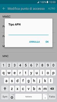 Samsung Galaxy A8 - Internet e roaming dati - Configurazione manuale - Fase 13