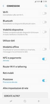 Samsung Galaxy S8 Plus - Internet e roaming dati - Come verificare se la connessione dati è abilitata - Fase 5