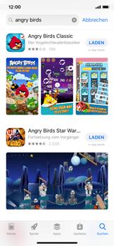 Apple iPhone X - iOS 12 - Apps - Herunterladen - Schritt 12