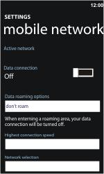 Nokia Lumia 900 - Internet - Manual configuration - Step 5