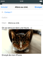 Apple iPhone 6 iOS 9 - E-mail - envoyer un e-mail - Étape 13