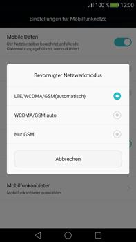 Huawei Mate S - Netzwerk - Netzwerkeinstellungen ändern - Schritt 6