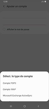Samsung Galaxy A80 - E-mail - configuration manuelle - Étape 9