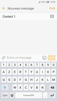 Samsung Samsung Galaxy J7 (2016) - Contact, Appels, SMS/MMS - Envoyer un MMS - Étape 11