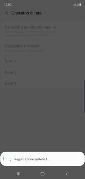 Samsung Galaxy Note 10 - Rete - Selezione manuale della rete - Fase 13