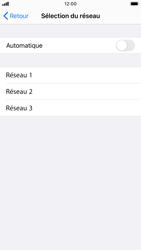 Apple iPhone 6s - iOS 14 - Réseau - Sélection manuelle du réseau - Étape 7