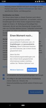 Sony Xperia 10 Plus - Apps - Konto anlegen und einrichten - Schritt 17