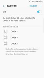 Samsung Galaxy S6 Edge - Android Nougat - Bluetooth - Verbinden von Geräten - Schritt 7