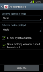 Samsung I8730 Galaxy Express - E-mail - Handmatig instellen - Stap 17