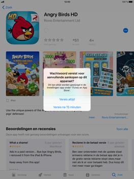 Apple iPad Air 2 - iOS 11 - Applicaties - Downloaden - Stap 15