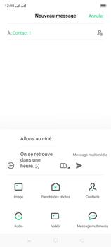 Oppo A9 2020 - Contact, Appels, SMS/MMS - Envoyer un MMS - Étape 16