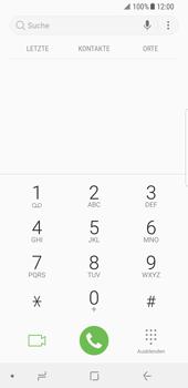 Samsung Galaxy S8 - Android Oreo - Anrufe - Rufumleitungen setzen und löschen - Schritt 4