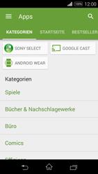 Sony Xperia E3 - Apps - Herunterladen - 6 / 20