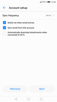 Huawei Mate 9 - E-mail - 032c. Email wizard - Outlook - Step 8