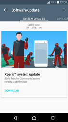 Sony Xperia X Compact - Software - Installing software updates - Step 7