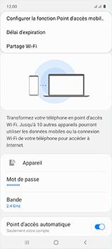 Samsung Galaxy A51 - WiFi - Comment activer un point d'accès WiFi - Étape 8