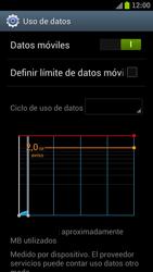 Samsung I9300 Galaxy S III - Internet - Ver uso de datos - Paso 5