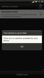 HTC One S - Software - Installing software updates - Step 9