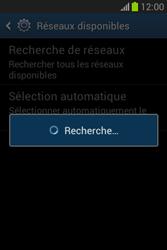 Samsung Galaxy Fame Lite - Réseau - Sélection manuelle du réseau - Étape 7