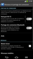 LG D955 G Flex - Réseau - Sélection manuelle du réseau - Étape 5