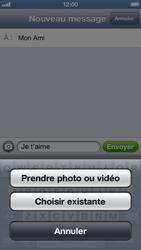 Apple iPhone 5 - MMS - envoi d