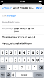Apple iphone-5s-met-ios-12-model-a1457 - E-mail - Hoe te versturen - Stap 8