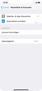 Apple iPhone X - E-Mail - Konto einrichten (outlook) - 4 / 12