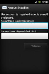 Sony ST23i Xperia Miro - e-mail - handmatig instellen - stap 14