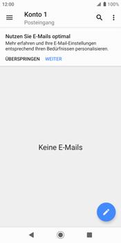 Sony Xperia XZ2 - Android Pie - E-Mail - Konto einrichten - Schritt 5