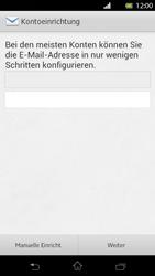 Sony Xperia T - E-Mail - Manuelle Konfiguration - Schritt 6