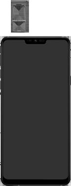 LG g7-fit-dual-sim-lm-q850emw-android-pie - Instellingen aanpassen - SIM-Kaart plaatsen - Stap 3