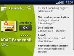 Sony Ericsson Xperia X10 Mini Pro - Apps - Herunterladen - Schritt 20
